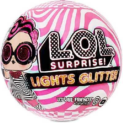 Lights Glitter LOL Surprise Poupées, 8 Surprises, One Random