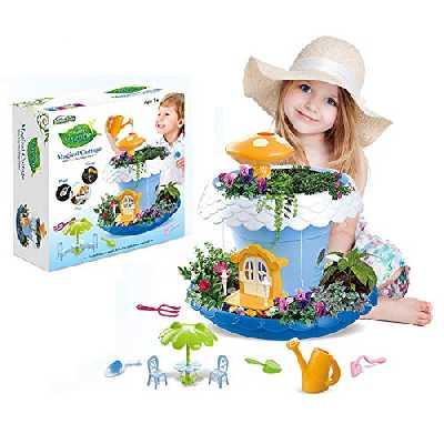 My Fairy Garden - Conte De Fées Petite Cottage Magique Jardin En Miniature Jeu Botanique Pour Les Enfants,Jouets Et Kits De Science Pour Enfants