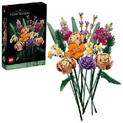 LEGO 10280 Creator Expert Bouquet de fleurs Fleurs artificielles, collection botanique, set pour adultes