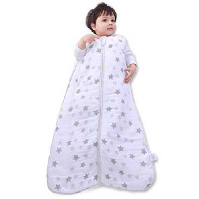 Gigoteuse Hiver 18-36 Mois en Mousseline 100% Coton Bio, Tog 3,5 Turbulette Hiver 18-36 Mois, Gigoteuse Bébé Unisex pour Bébé Garcon & Fille, Vetement Bebe pour 18-36 Mois, Pyjama Bebe Fille & Garcon