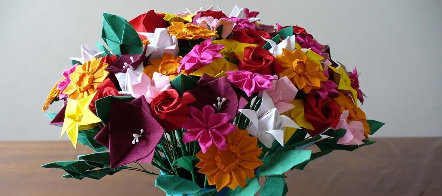 Origami Facile Faire Des Fleurs En Papier La Marmaille