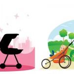 Fitness poussette ou Gym poussette : sport pour maman et bébé