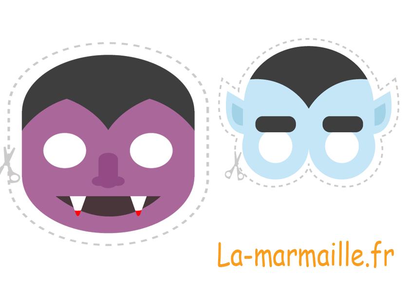 Masque halloween 10 masques imprimer gratuitement la - Masque de halloween a imprimer ...