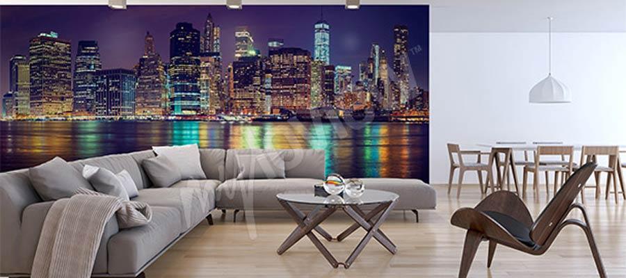 papier peint new-york