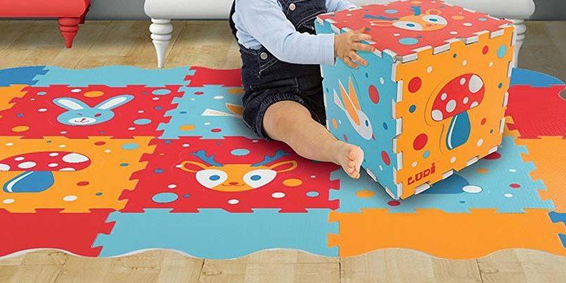 tapis mousse puzzle dalle