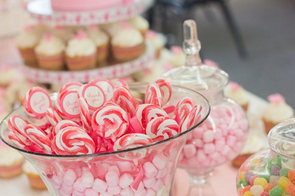 buffet anniversaire bonbon