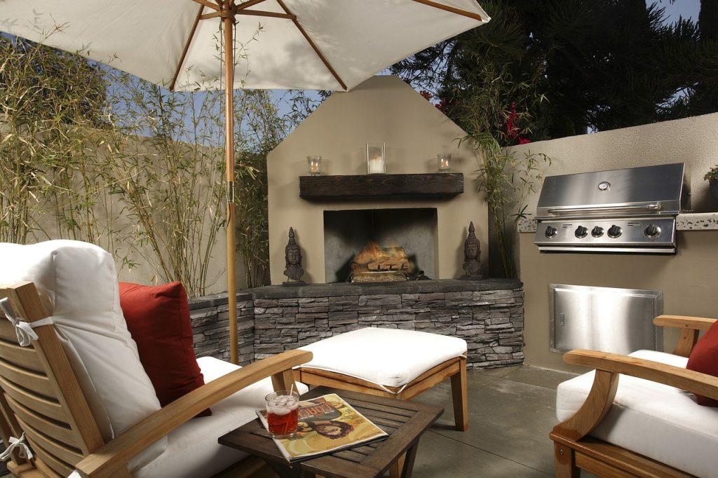 terrasse barbecue