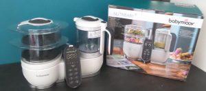 Test du Nutribaby + le nouveau robot cuiseur de Babymoov