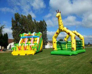 Un château gonflable pour les fêtes d'anniversaire, c'est possible !