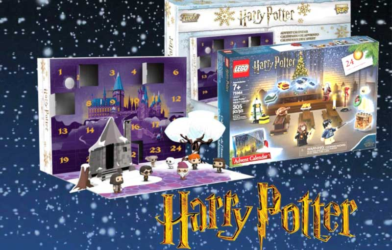Calendrier De Lavent Harry Potter Funko Pop.Calendrier De L Avent Harry Potter 2019 Notre Selection