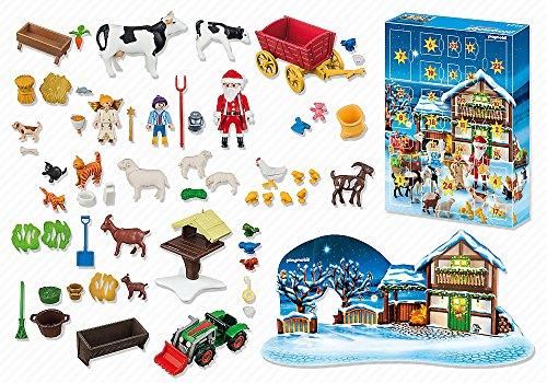 Calendrier de l'avent Noël à la ferme