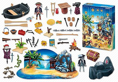 calendrier île des pirates de Playmobil