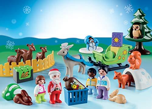 Playmobil1.2.3 Noël dans la forêt