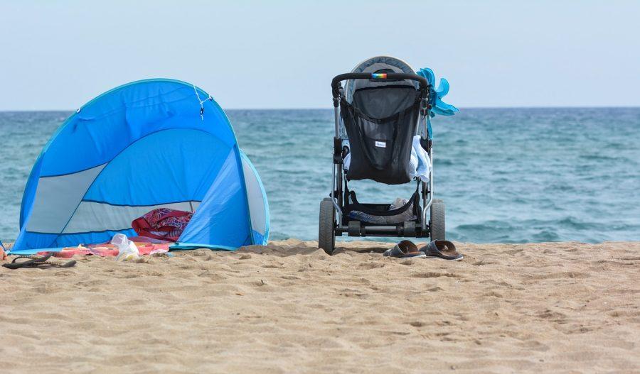 tente de plage bebe