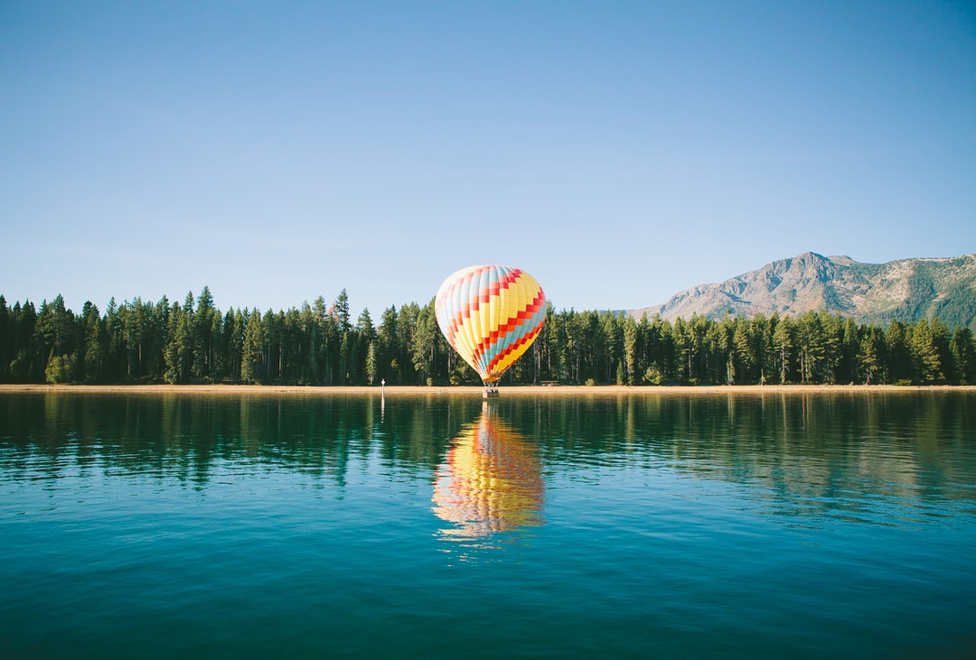 week end amoureux montgolfiere