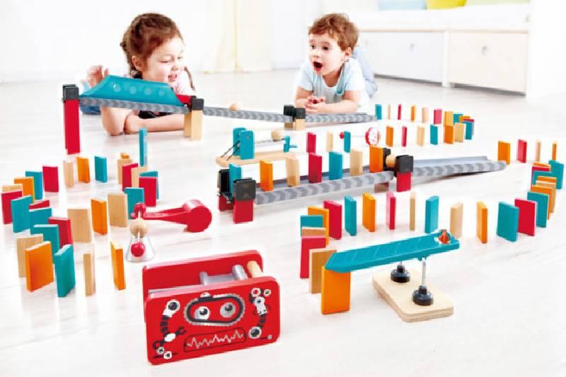 Meilleurs jouets et cadeaux pour robots : Dominos de robots Hape