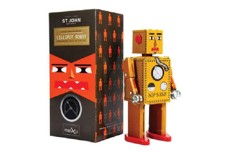 Jouets et cadeaux pour robots : Robot Lilliput de St. John Shanghai