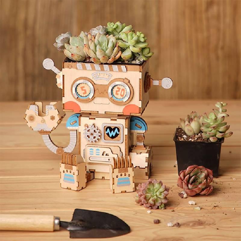 Meilleurs jouets et cadeaux pour robots : Jolly Whale Planter