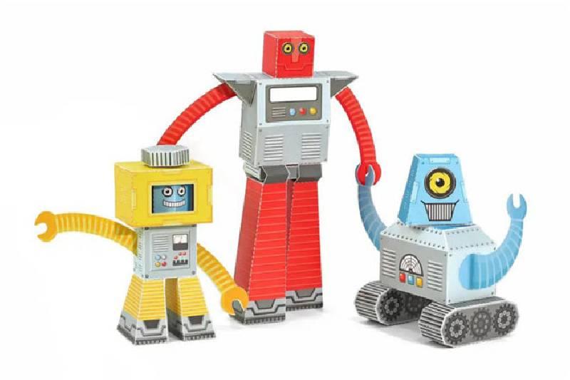 Meilleurs jouets et cadeaux pour robots : Robots en papier Pukaca