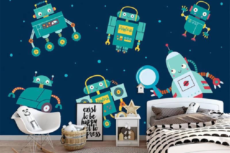 Meilleurs jouets et cadeaux pour robots : Fond d'écran du robot créatif AJ