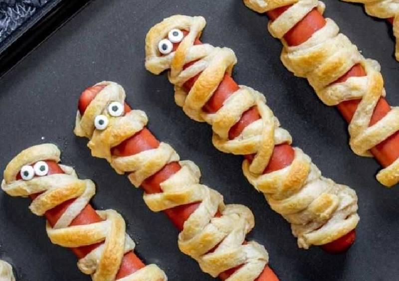 Hot dog Halloween