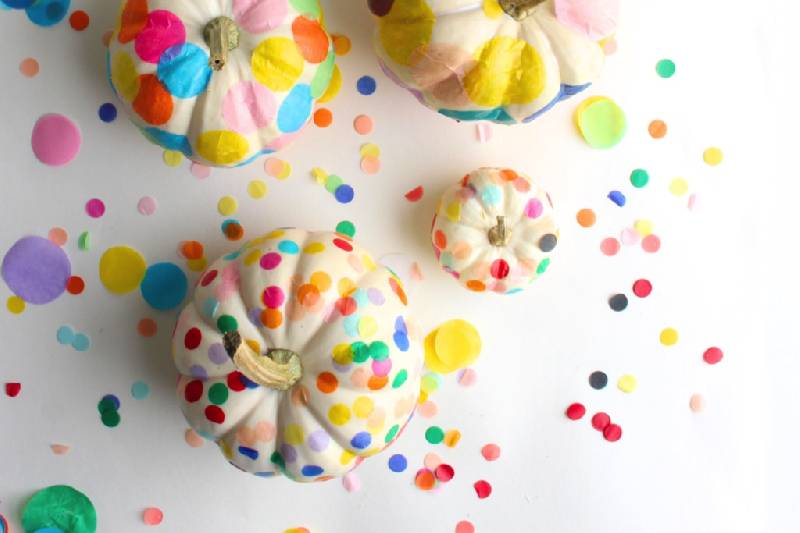 citrouilles confetti