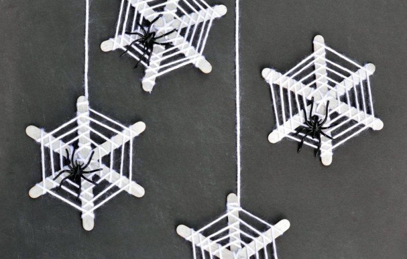 toiles araignées deco halloween