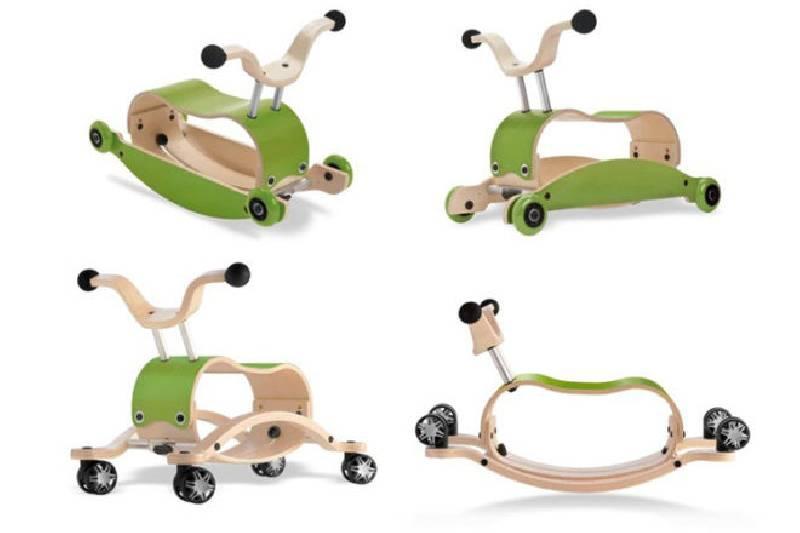 Jouets pour les bébés de 6 à 12 mois : Wishbone Mini-Flip Deluxe