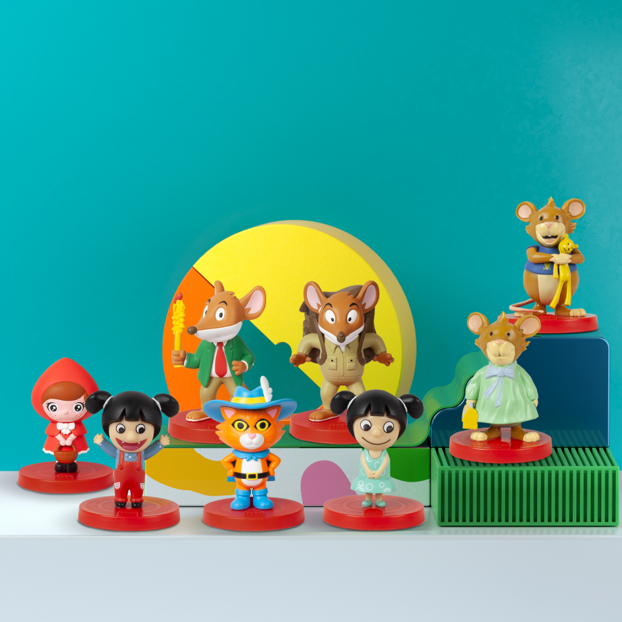 faba conteuse figurines
