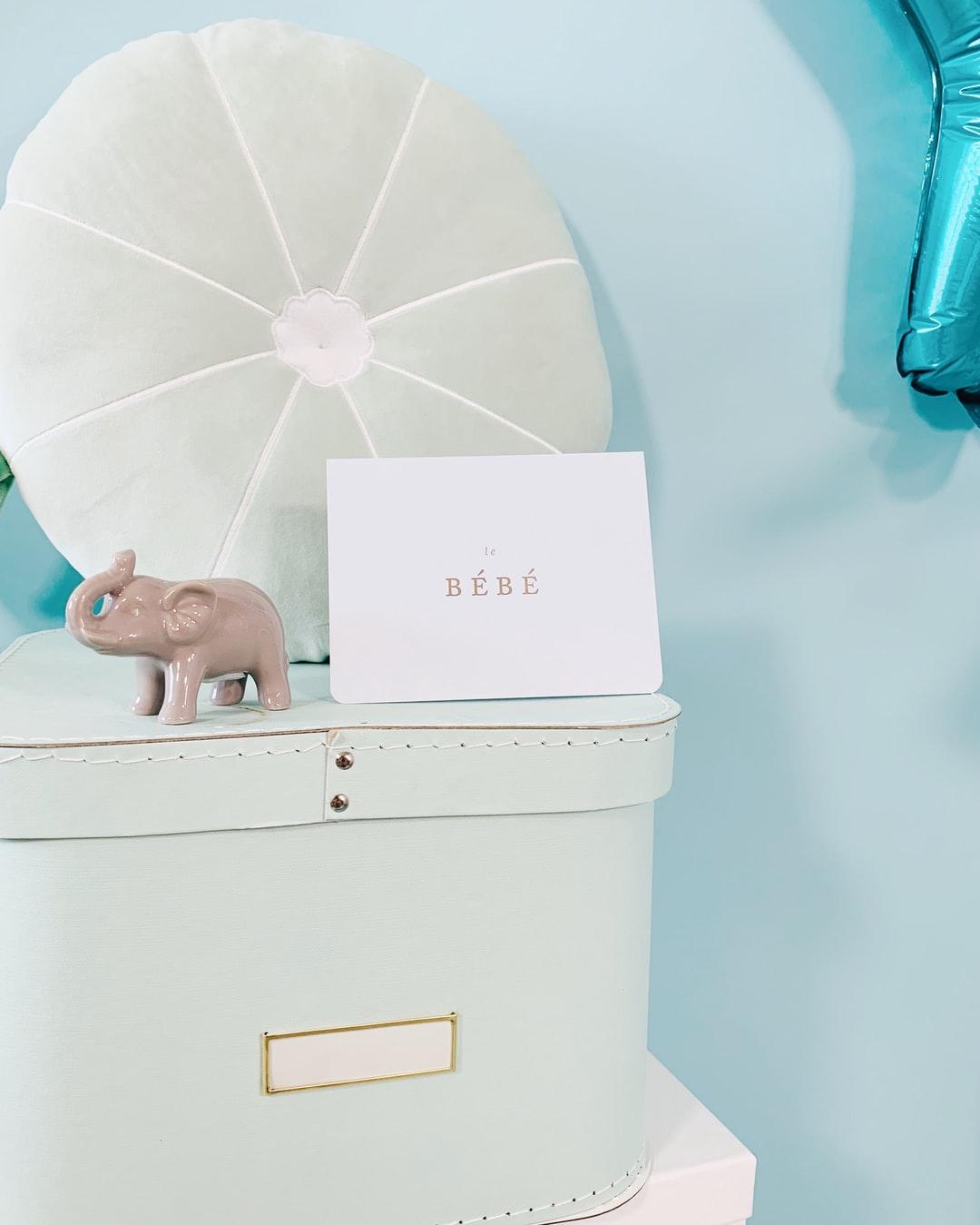 boite souvenir pour bébé