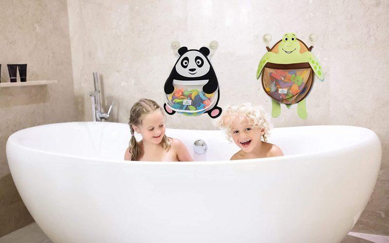 rangement jouet-bain