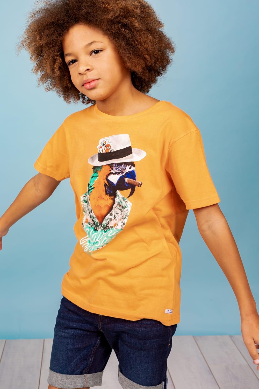 tshirt original perroquet garçon